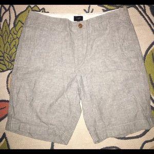 Men's J. Crew Cotton Chambray Shorts